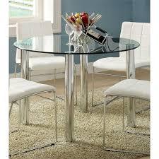 living nice round glass top dining set 12 1565493 l nice round glass top dining