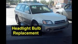 Headlight Bulb Replacement High Beam And Low Beam Subaru Outback Auto Repair Series