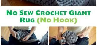 crochet patterns chunky diy hand crochet giant rug no sew free pattern 10 handmade crochet area rug c