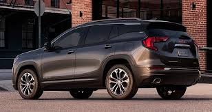 2018 gmc suv. modren gmc 2018 gmc terrain rear with gmc suv