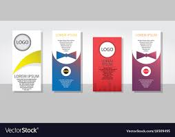 Pamphlet And Brochure Set Of Posters Flyers Pamphlet Brochure Cover
