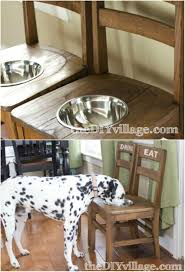 repurpose furniture dog. Create These Amazing Dog Feeders Repurpose Furniture B
