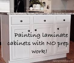 painting laminate kitchen cabinetsBest 25 Paint laminate cabinets ideas on Pinterest  Laminate