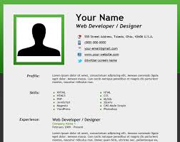 Free Resumes Template Resume Amazing Idea How To Create A Resume 9 How  Create An Html5 Microdata Powered Resume
