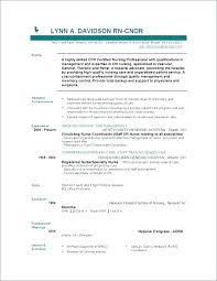 Nursing Resume Example Registered Nurse Resume Sample Nursing Resume