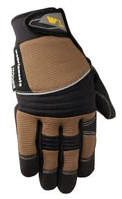 insulated synthetic leather gloves 7747 image