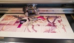 printing through a print company