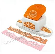 Flower Shaped Paper Punches Free Shipping Flower Shape Border Punch Foam Paper Embossing