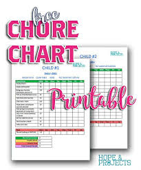 Teaching Kids About Money Chore Chart Kids Charts For