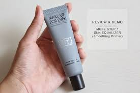 review demo makeup forever step 1 skin equalizer smoothing primer