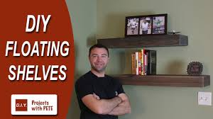 How To Make Floating Shelves Youtube How to Make Floating Shelves DIY Wood Floating Shelves YouTube 1