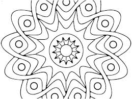 Elephant Mandala Coloring Pages Easy Easy Mandala Coloring Pages
