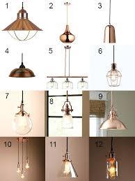 int kitchen inspiration and farmhouse copper pendant light fixtures
