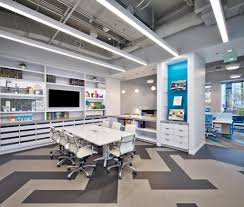 lighting design office. This Also Allows Natural Light To Penetrate The Entirety Of Public/ Private Engagement Area. Office Lighting Design
