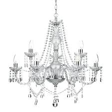 9 light chandelier mcknight 9 light crystal chandelier
