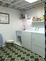Image Storage Ideas Unfinished Basement Laundry Room Ideas March Cozy Up Your Space With Rug Low Ceiling Pinterest Pedicurebarendrechtinfo Unfinished Basement Ideas Pedicurebarendrechtinfo