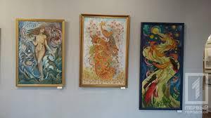 В выставочном зале Кривого Рога презентовали дипломные работы  5