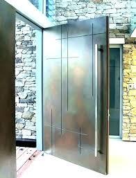 modern glass front door. Exterior Doors Modern Design Contemporary Front  Funky . Glass Door