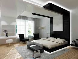 Bedroom  Wonderful Brown Grey Wood Glass Cool Design Art Deco - Interior of bedroom