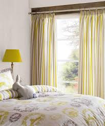 Lined Bedroom Curtains Kirsty Allsopp Cecile Ready Made Lined Curtains 66 X 72 Buttercup