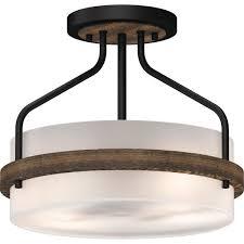 volume lighting emery 2 light walnut