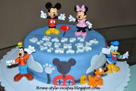 Share A Recipe Mickey Mouse Club House Cake