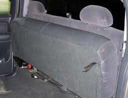 2007 chevy gmc extended cab rear bench