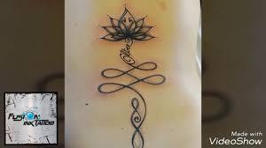 Tatuaggio Unalome Con Frase Oltre Messina Youtube