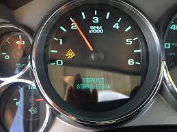 Stabilitrak Light On Silverado Service Stabilitrac Traction Control Message Chevrolet