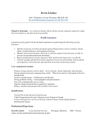 Resume For Security Guards Corporate Physical Security Jobs Related