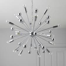 komet spherule chrome effect lamp pendant ceiling light ideas 20