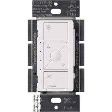 caseta wireless smart fan sd control single pole white