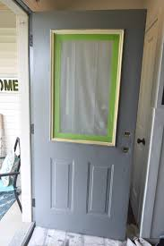 how to paint a front doorAdding curb appeal how to paint shutters and front door  Our