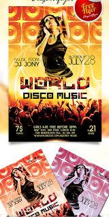 dj scretch flyer psd template facebook cover rar