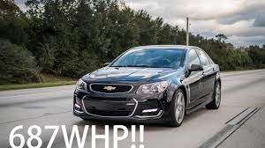Supercharged 687WHP Chevy SS!   Better Than A Hellcat? - YouTube
