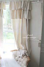 curtains country ruffled curtains narrow on catalog ruffle and bedspreads double drop cloth 56