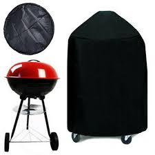 bbq grill cover w drawstring fits weber one touch silver 21 similar round