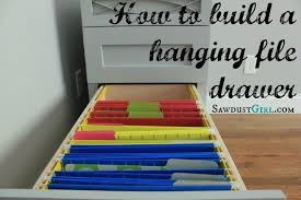 hanging file drawer. Contemporary Drawer How To Build A Hanging File Folder Drawer Throughout Hanging File Drawer