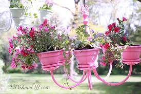 how to make a chandelier planter 3