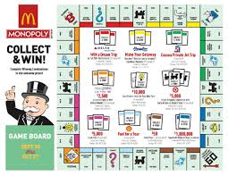 mcdonald s monopoly game using clic games