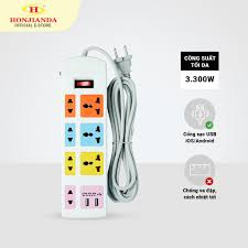 Ổ cắm điện đa năng Honjianda HJD-0448B, Giá tháng 10/2020
