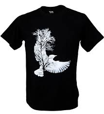 Design Graffiti T Shirts Bird Tree Design Graffiti Art Graphic T Shirt Design T Shirt Mens High Quality T Shirts 2017 Brand Clothes Slim Fit Printing Online Shirts T Shirt