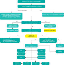 Hypertension Guidelines Chart 2015 Esc Ers Guidelines For The Diagnosis And Treatment Of