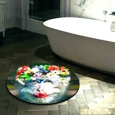 oriental rug bath mat small round bathroom rugs cute mats c