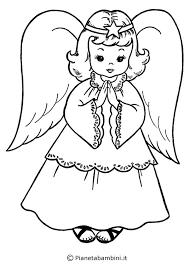 18 Disegni Di Angeli Da Colorare Omalovánky Disegni Da Colorare