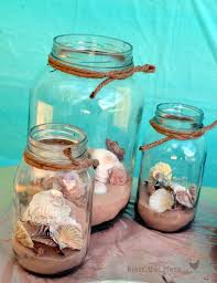Beach Birthday Party | Shell, Jar and Decoration
