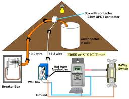 control water heater using amp switch water heater 3 way timer