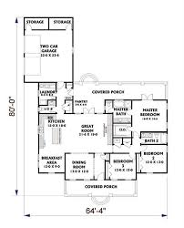 floor plan first story of cape cod plan 123 1005