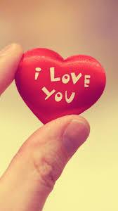 cute i love you heart