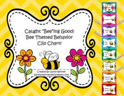 Bee Theme Behavior Chart Worksheets Teaching Resources Tpt